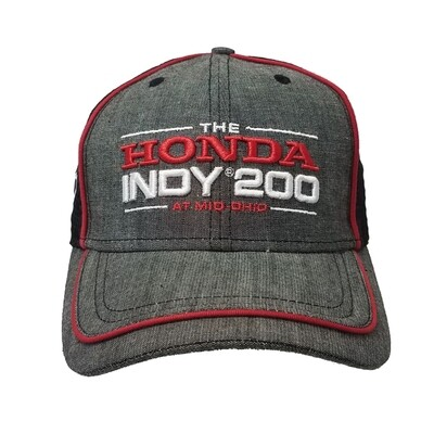 2020 Honda Indy 200 Hat - Chambray/Black