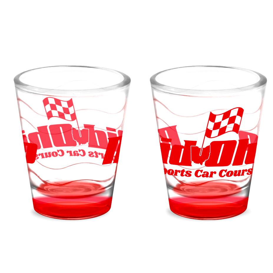 Mid-Ohio Shot Glass - Clear