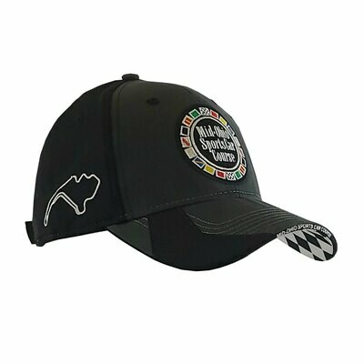 Mid-Ohio Circle Logo Hat - Charcoal/Black