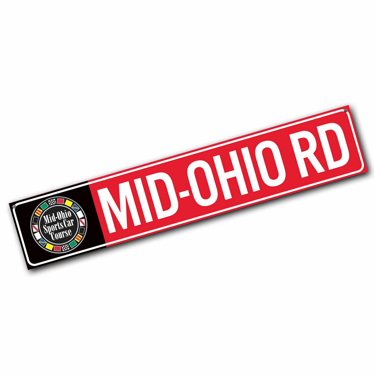Street Sign - Mid-Ohio Rd