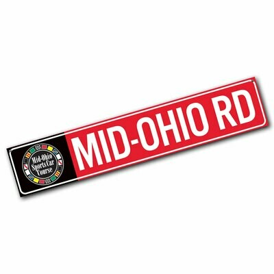 Street Sign - Mid-Ohio Rd