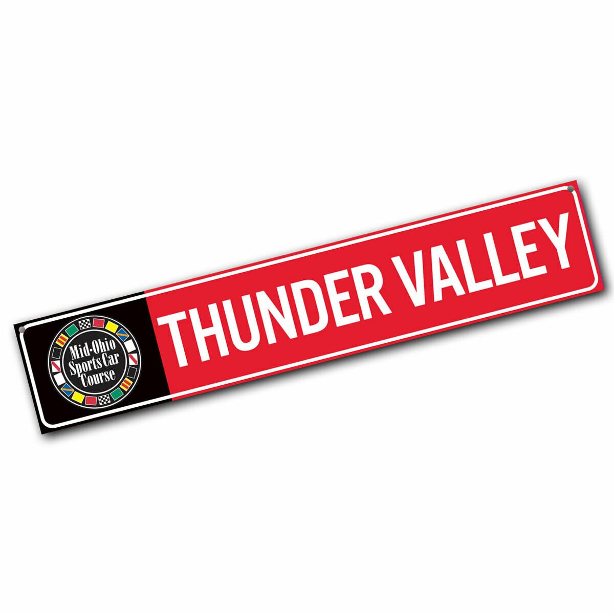 Street Sign - Thunder Valley