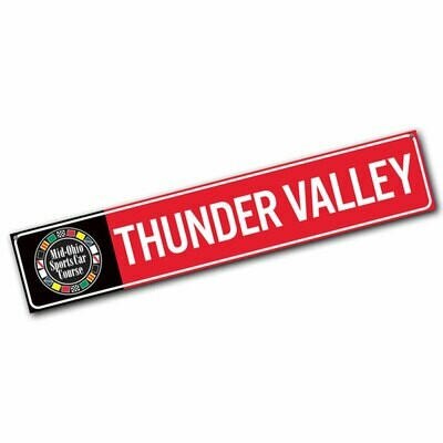 Street Sign - Thunder Valley