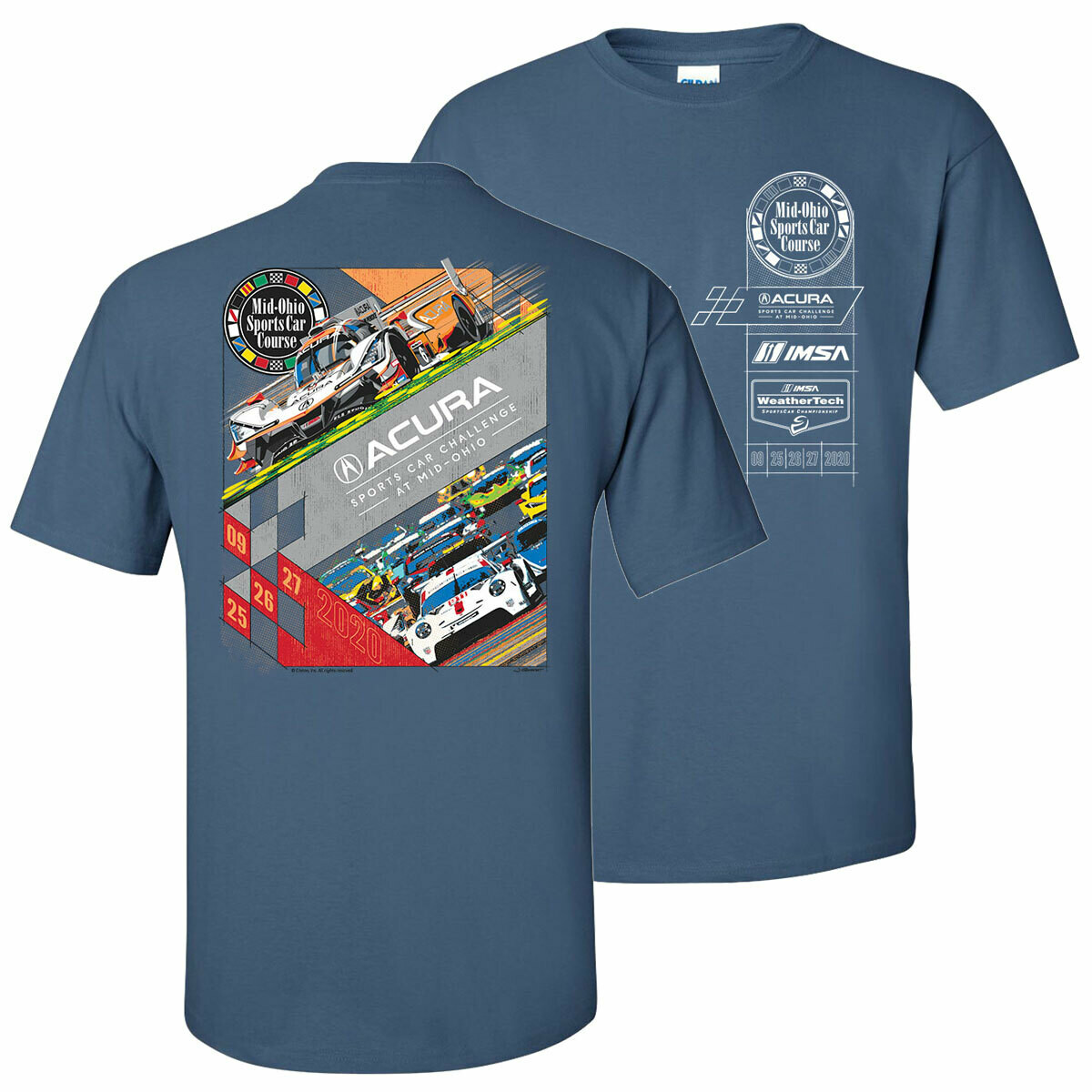 2020 Acura Sports Car Challenge Official Event Tee