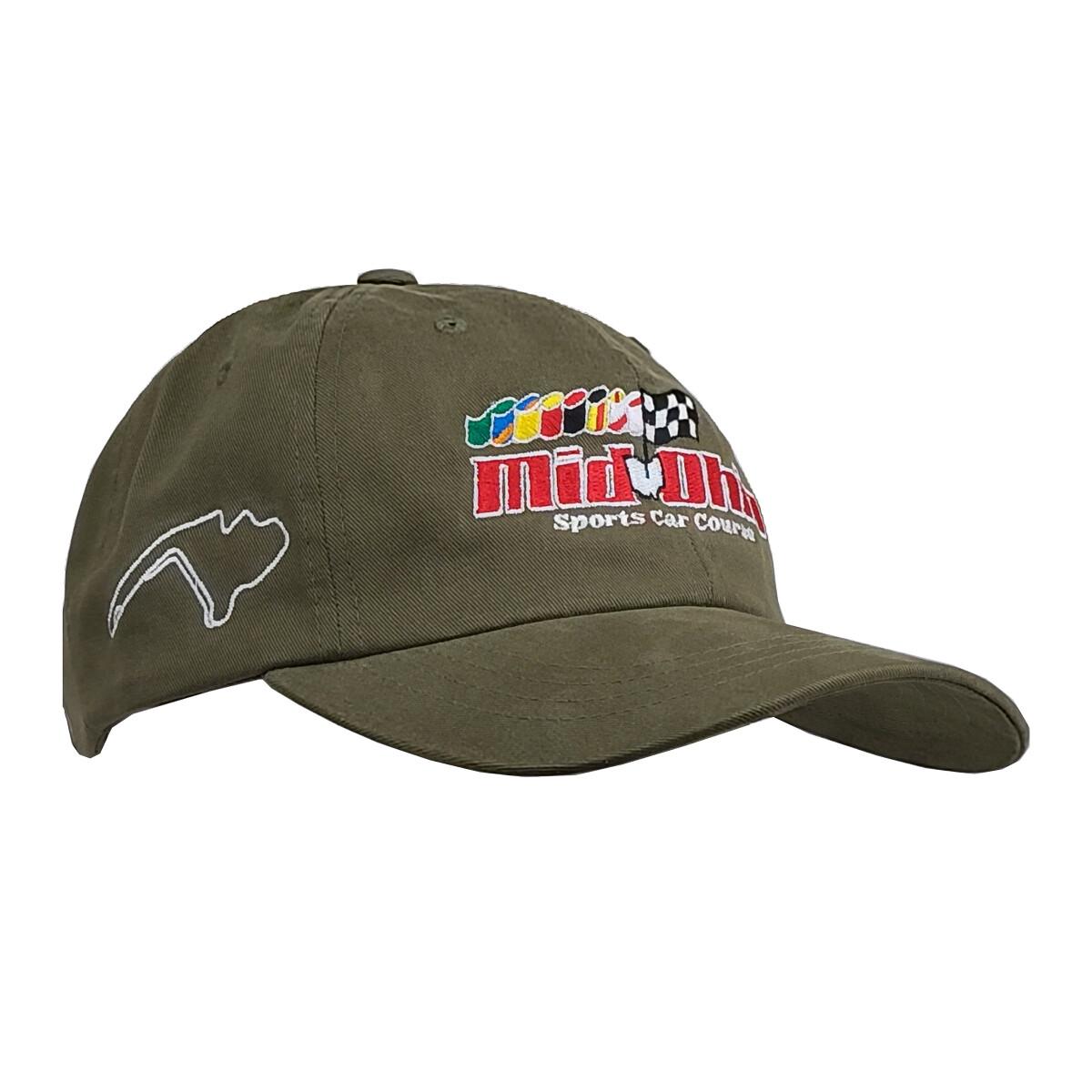 Mid-Ohio Dad Hat - Sage