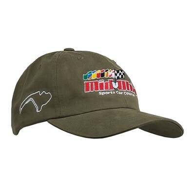 Mid-Ohio Dad Hat - Sage