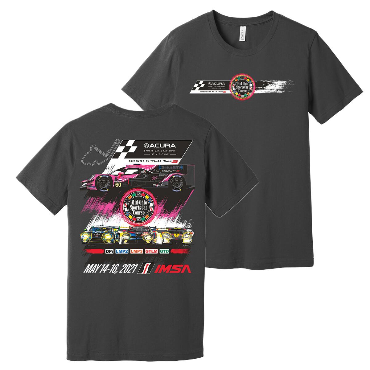 2021 Acura Event Tee-Asphalt