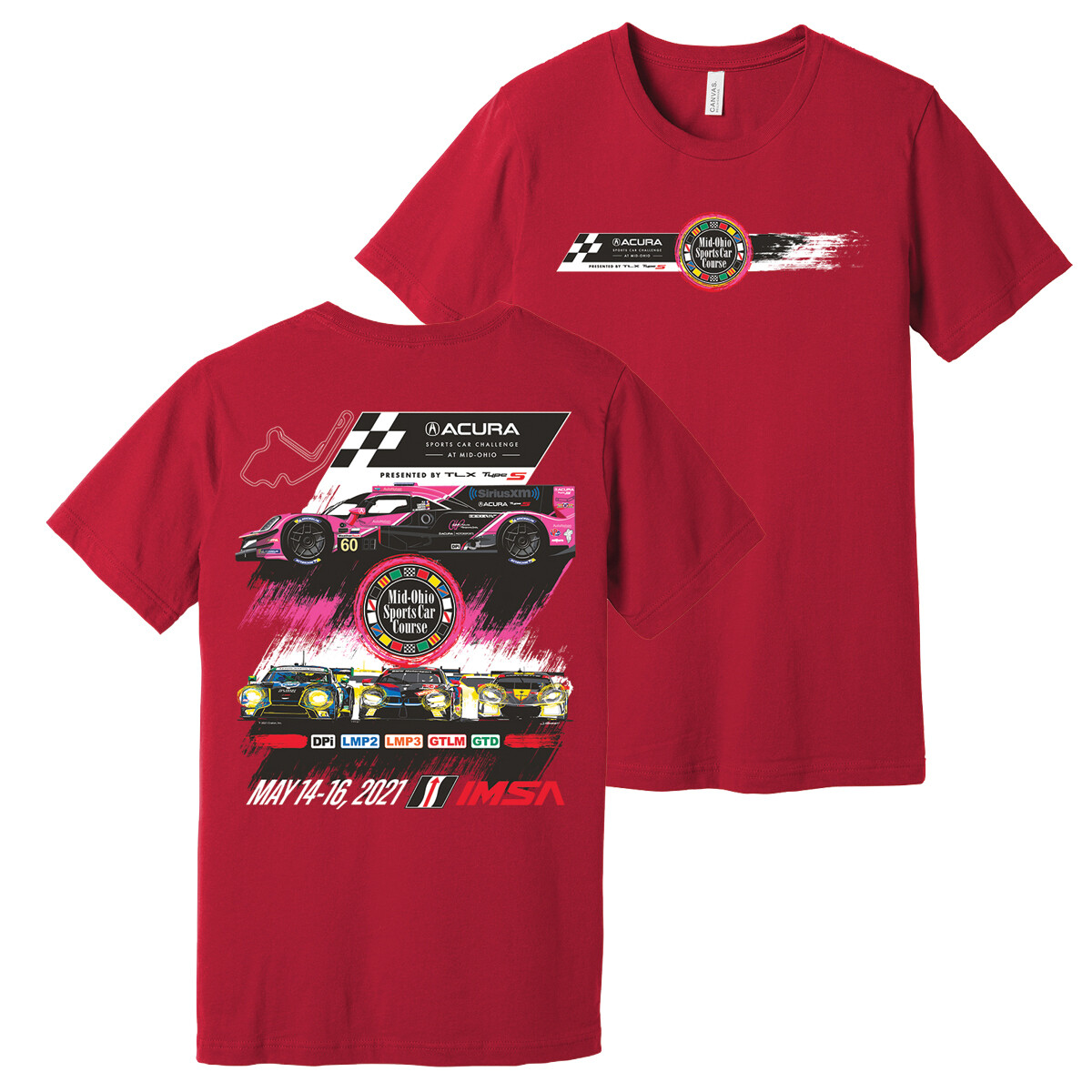 2021 Acura Event Tee - Red