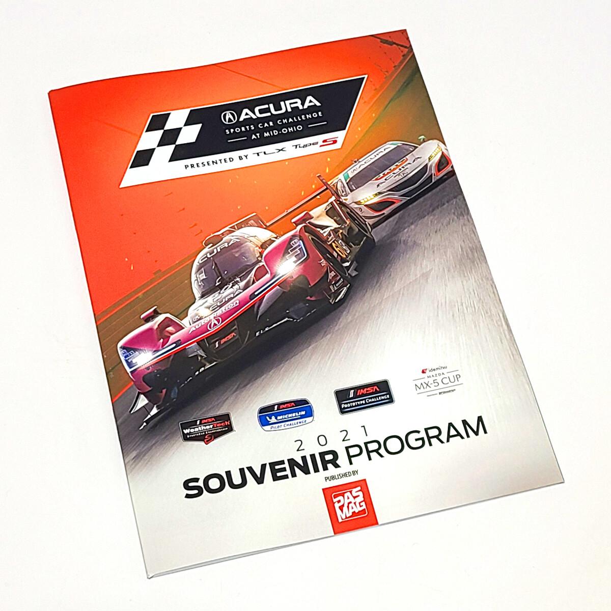 2021 Program - Acura Sports Car Challenge