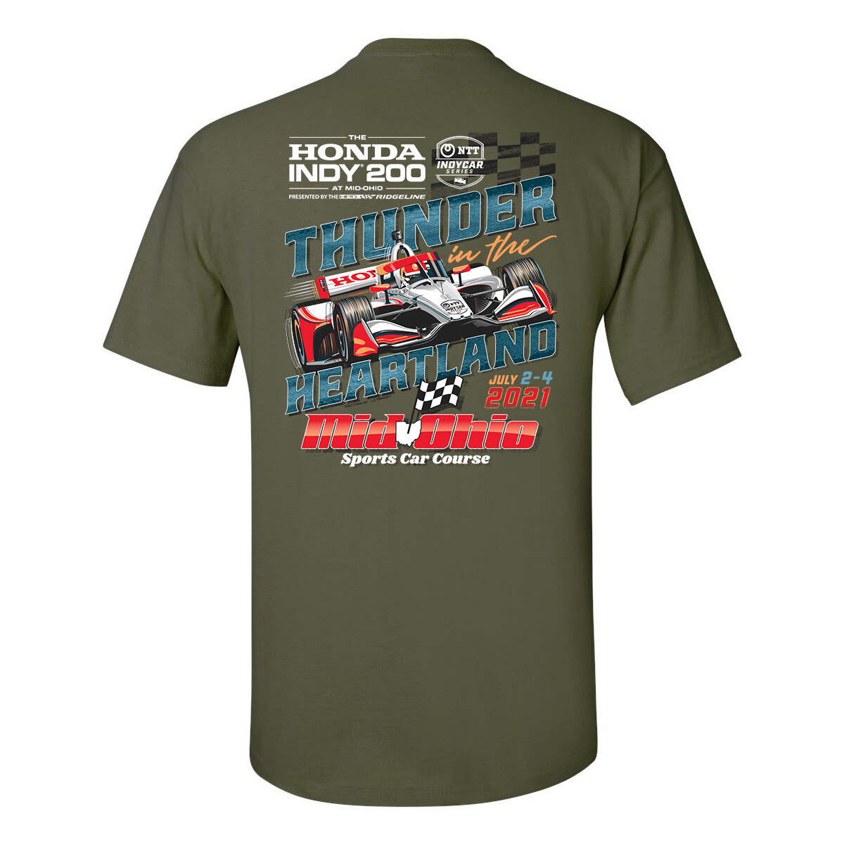 21' Indy 200 Thunder T-Olive