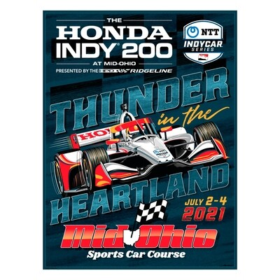 Poster - 2021 Honda Indy 200