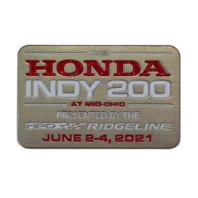 Lapel Pin - 2021 Honda Indy 200