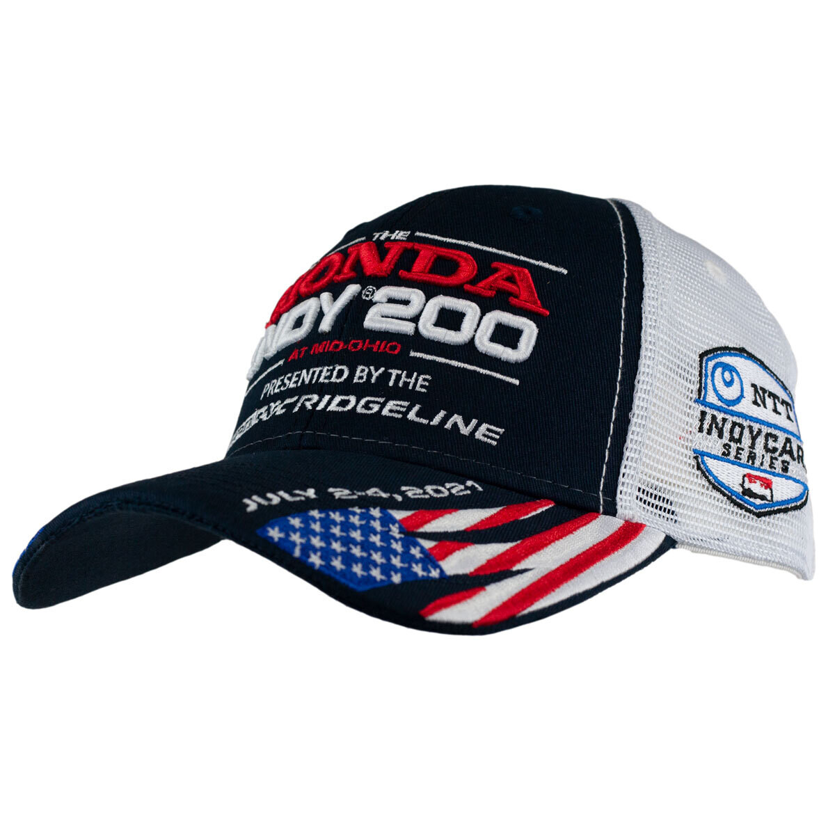 21' Indy Hat - Flags/Blue