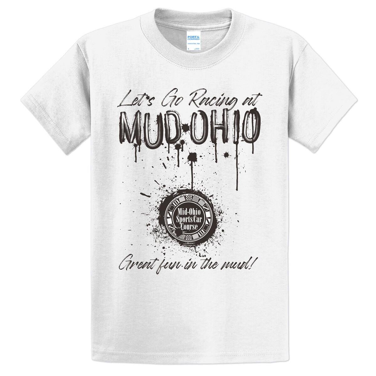 MUD-Ohio Tee - White