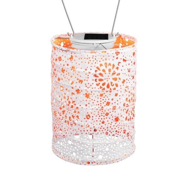 Soji Solar Lantern Stella Neon - Orange