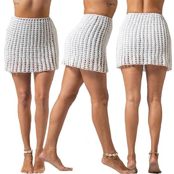 Crocheted Festival Skirt