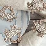 Blue Crab Napkin Rings