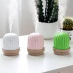 Cactus Light-Up Portable Humidifier - Pink