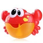Funny Music Crab Bubble Blower