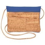 Be Lively 2-in-1 Cross Body Bag + Hip Bag - Royal Blue Faux Leather
