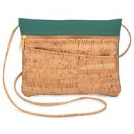 Be Lively 2-in-1 Cross Body Bag + Hip Bag - Peridot Faux Leather