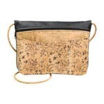 Be Lively Small Messenger - Black Floral Print