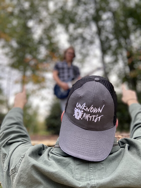 Grey and Black UKA Hat
