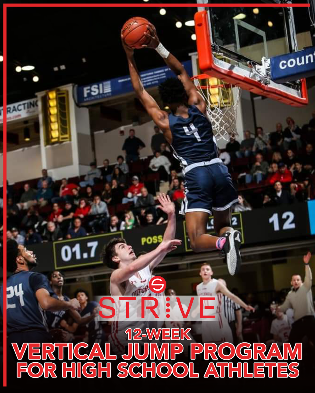 "12-Week Vertical Jump Program ""For High School Athletes"""