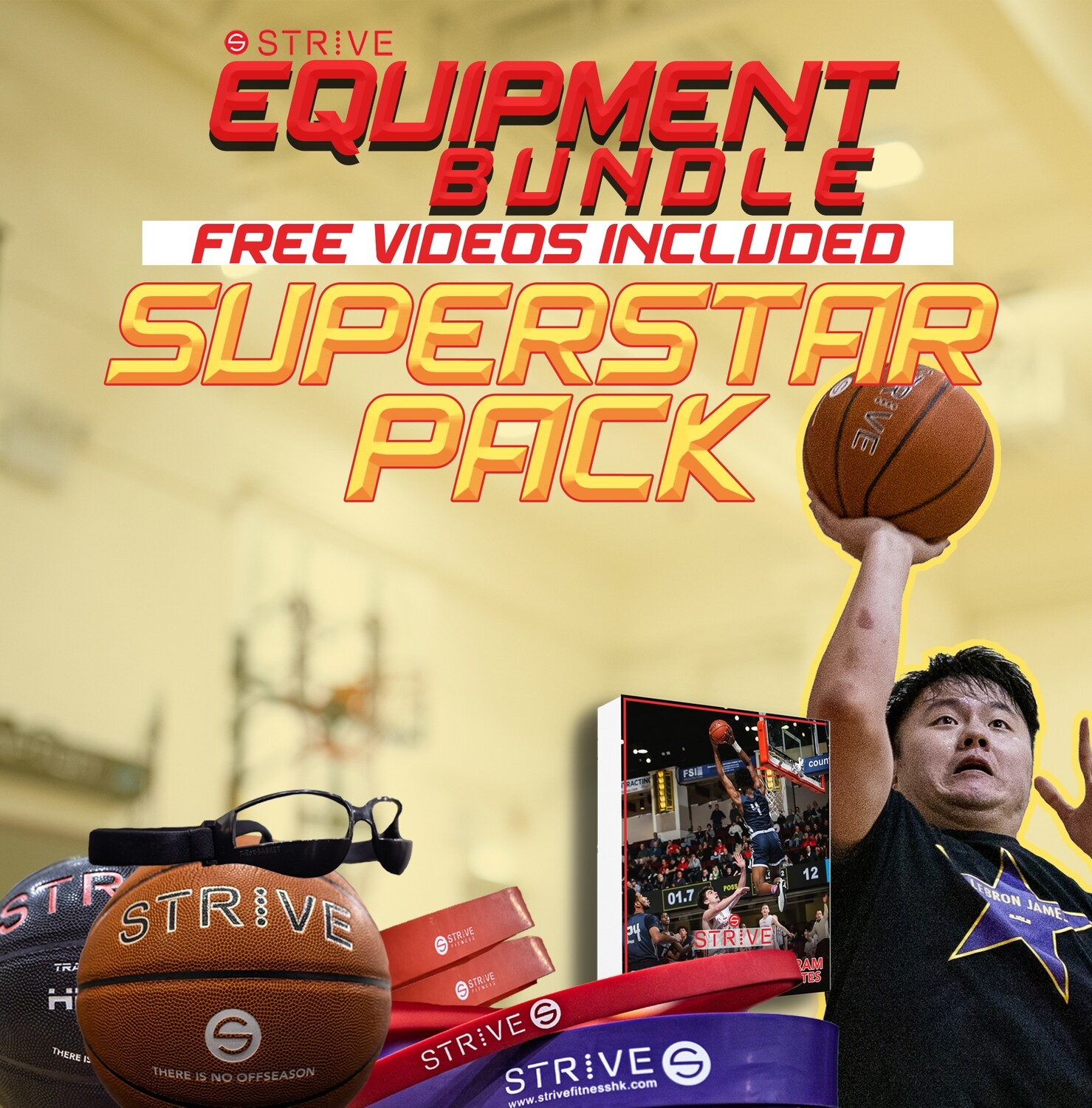 Equipment Bundle: Superstar Pack