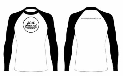 Black Mermaid FreedivingZA Rash Vest