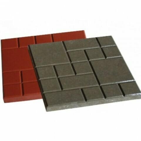 Тротуарная плитка  «Шоколадка»