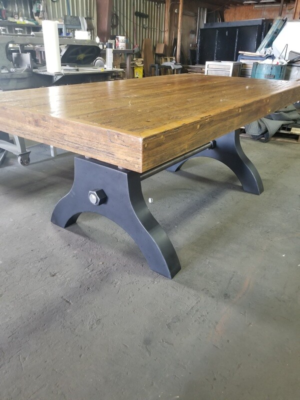 Industrial Machine Base Gaming Table