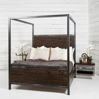 Straigt Sided Industrial Canopy Bed
