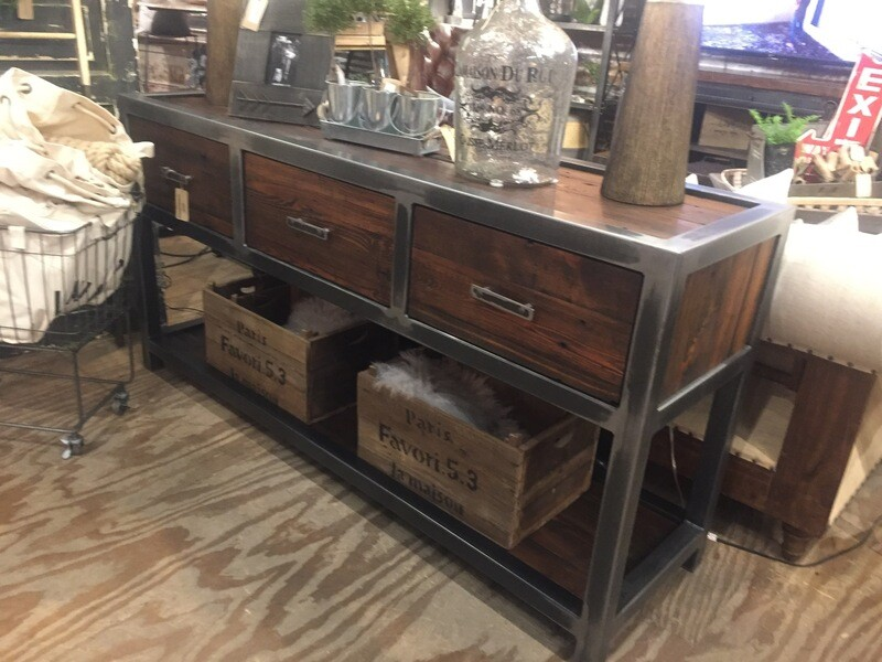 3 Drawer Entry Sofa Table