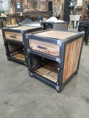 Industrial Night Stand