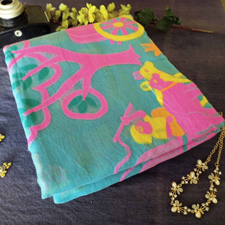 sundori soft dhakai resham jamdani saree for festive