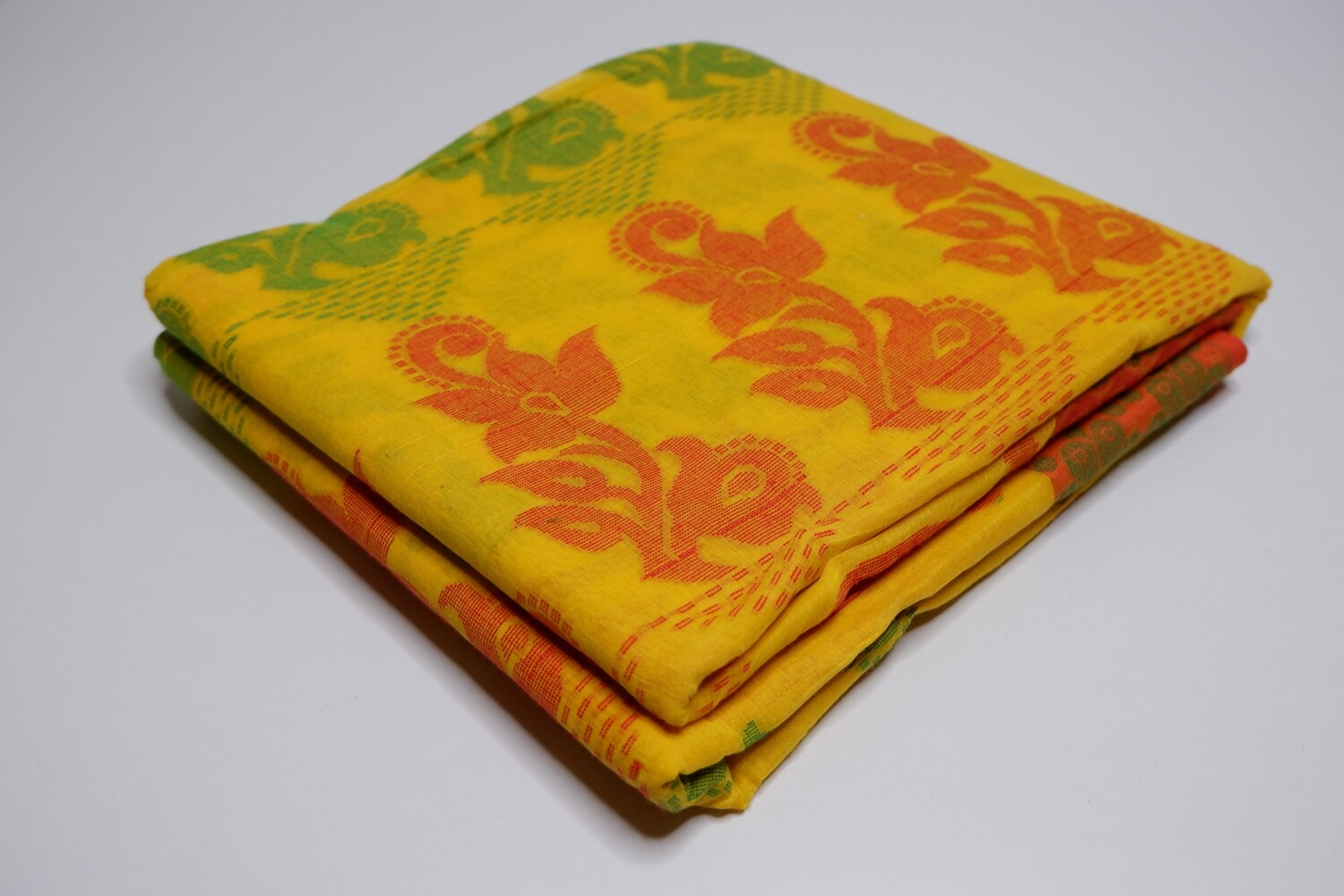 sundori dhakai jamdani cotton weaved saree