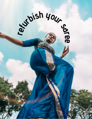 saree polishing service