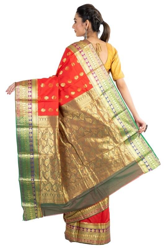 Sundori Bangalore Silk Benarasi