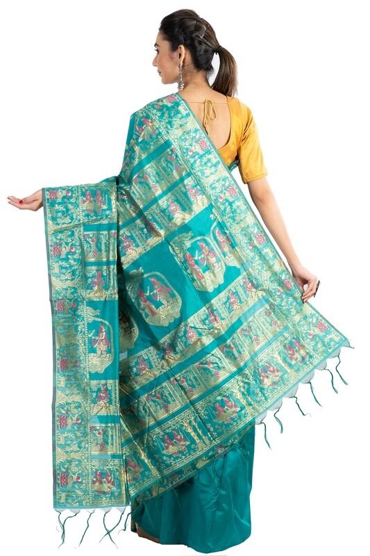 Sundori Baluchari Silk Saree