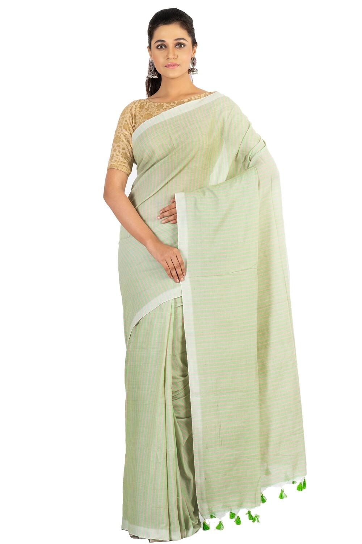 Sundori Pure Cotton Saree   Soft Fabric