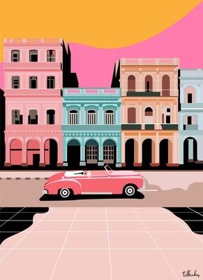 Havana, Cuba Artwork