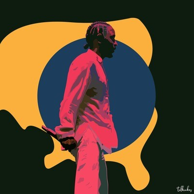 Kendrick Lamar aka Kung Fu Kenny Artwork