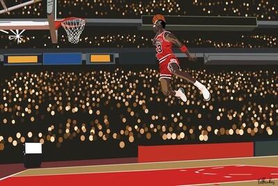 Michael 'Air' Jordan Artwork