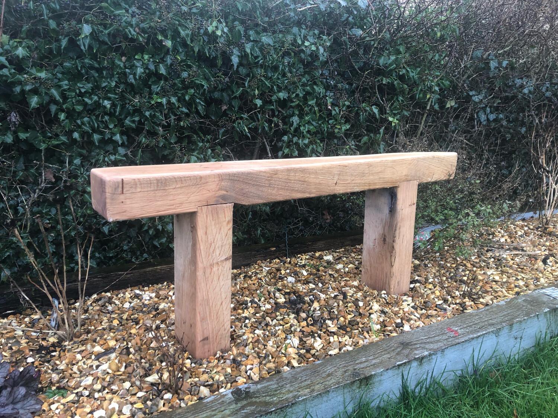 Oak Sleeper Bench