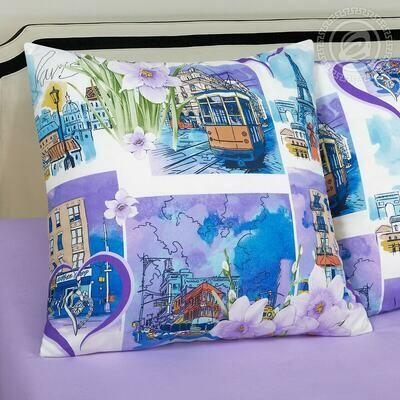 Город любви - DE LUXE  (Комплекты постельного белья)