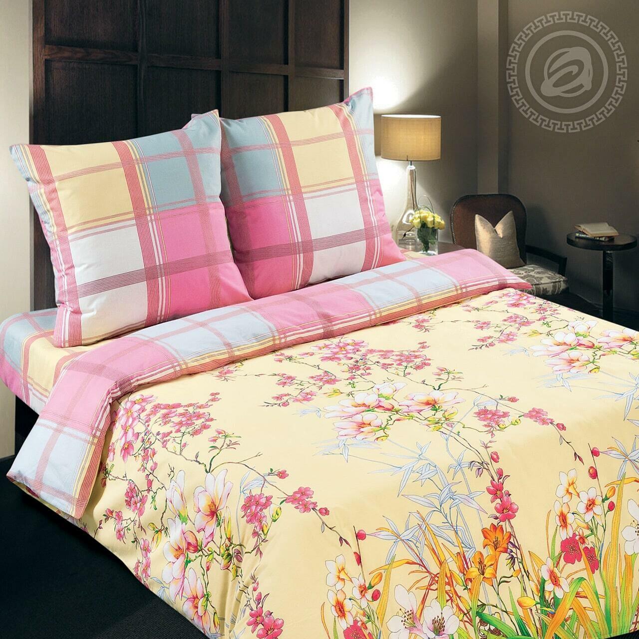 Утренний сад - DE LUXE  (Комплекты постельного белья)
