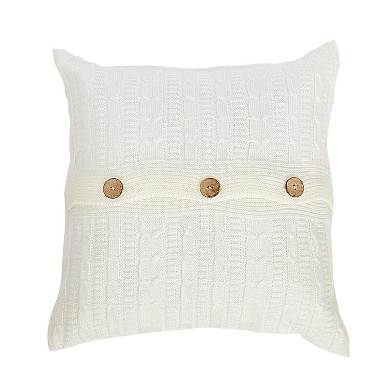 Подушка, цвет молочный