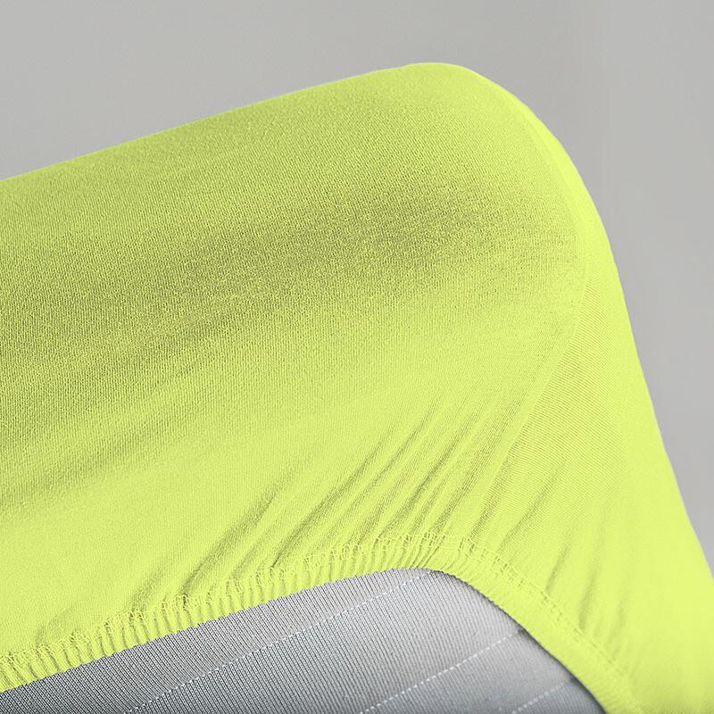 Простыня на резинке Unison Color Alchemy (Салатовый)
