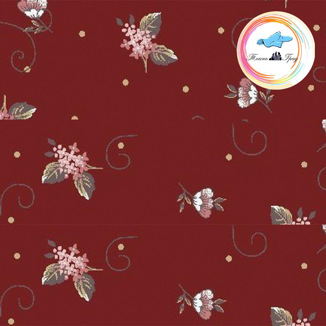 Ткань Ситец 80 см - 93261 - Красный